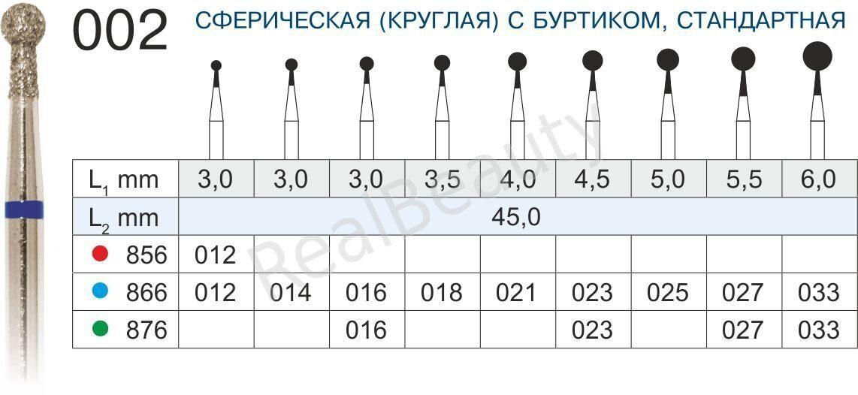 002_СФЕРИЧЕСКАЯ (КРУГЛАЯ) С БУРТИКОМ_